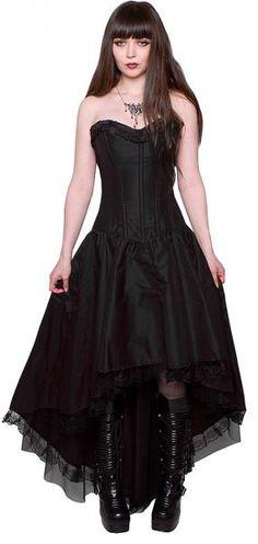 Schwarze gothic kleider