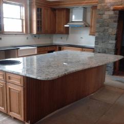 Granite Kitchen Counters Wallpaper For White Ice