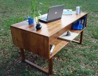 33 Stunning Reclaimed Wood Desks
