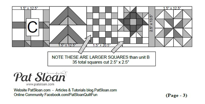 Pat Sloan's I Love To Make Quilts: Free Quilt Patterns