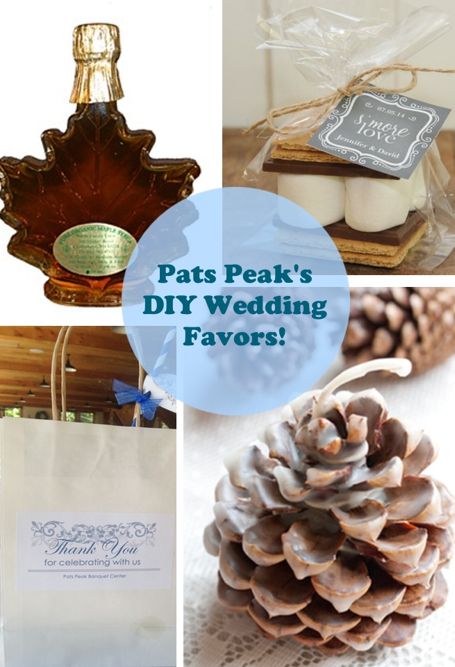 DIY Wedding Favors to REALLY Thank your Guests  Pats Peak Wedding Blog