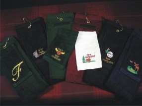 T-shirts, sweatshirts, jackets, caps, aprons and bags. Customized for your bridal party, parents, and you!