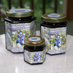 Wild New Hampshire blueberry jam! Who knew antioxidants tasted this good!