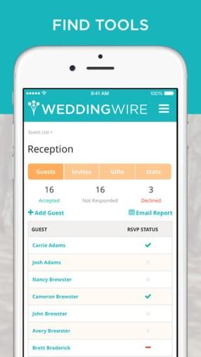 Wedding Wire App