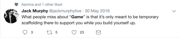 who needs game?
