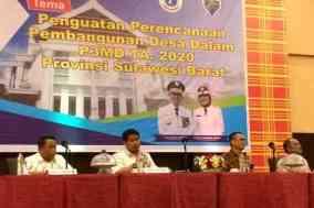 Rakor Dinas Pemberdayaan Masyarakat Desa (PMD) Provinsi Sulawesi Barat