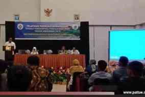 Para Pendamping desa Se Sulawesi Barat mengikuti pelatihan peningkatan kapasitas pendampingan di Hotel Maleo Mamuju (1)