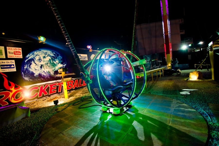 2 Sky Rocket Ball Pattaya