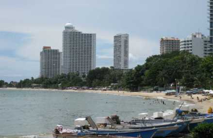 Pattaya fylles opp av flodrammede