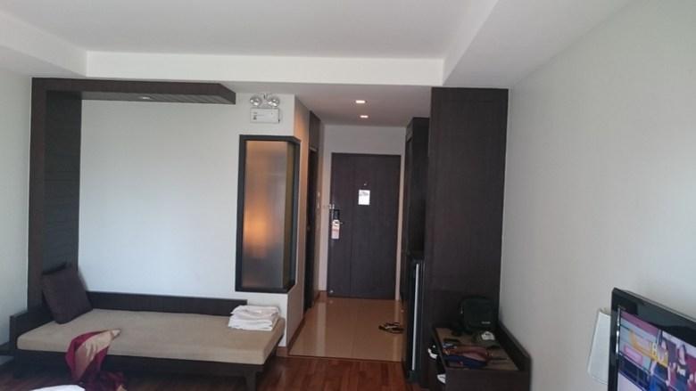 Hotellrommet på Fifth Jomtien