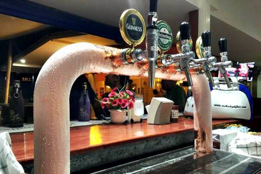 Outback Golf Bar - Icy Cold Draught Beers