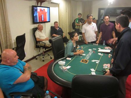 9 Foreigners Arrested During Police Raid Of Illegal Poker