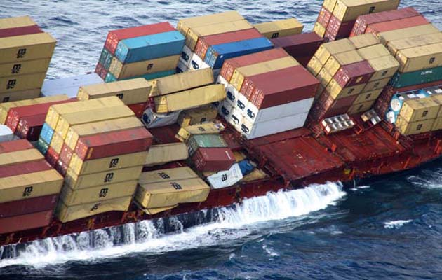 Cargo Container Retrieval From Sea To Take Days