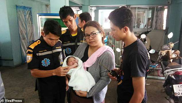Thai teen throws newborn baby off 5th floor balcony