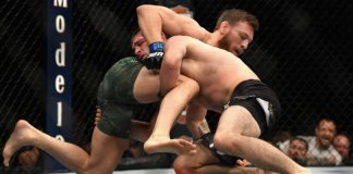 Khabib Jumps Out Of Cage To Fight Conor McGregor's Team