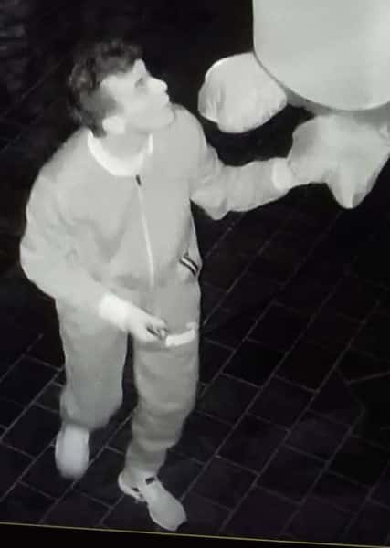 Man Captured On CCTV Performing Sex Acts On Inflatable Christmas Decorations