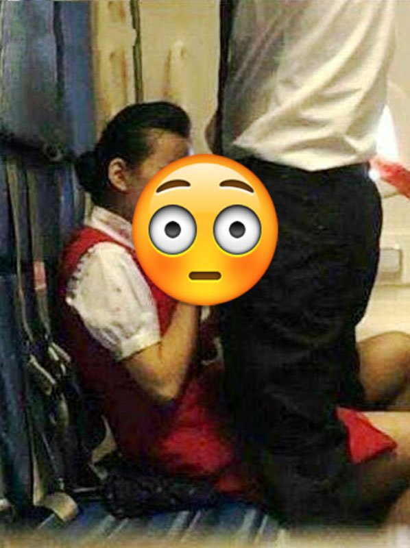 Chinese Flight Attendant Discovered Performing Oral On Man During Flight