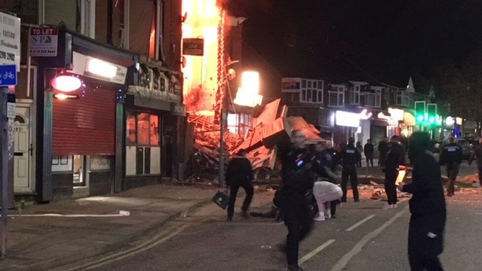 Leicester explosion: Three men guilty of murdering five people