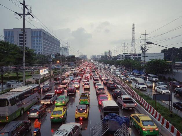 Top 5 roads with the worst traffic in 2018