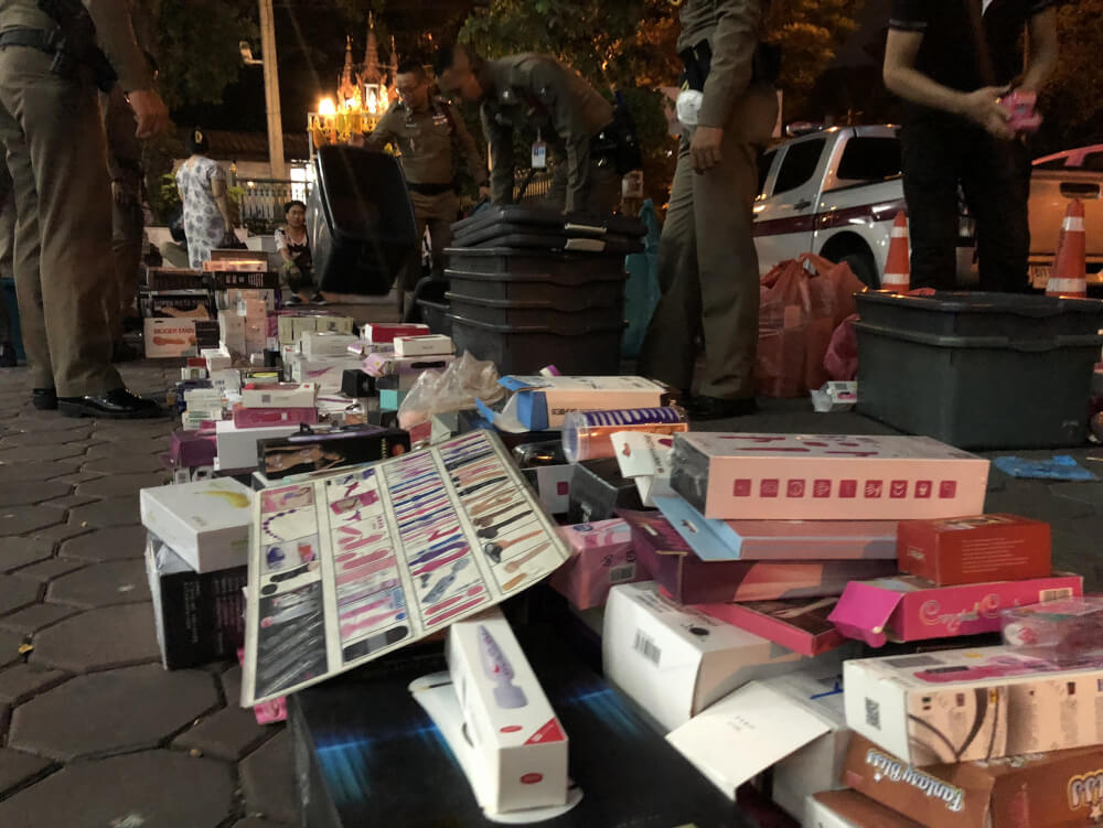Police seize sex toys, 'Viagra' worth Bt2m in Nana raid