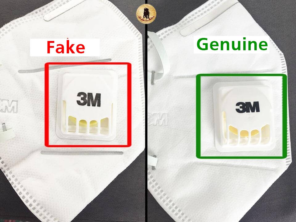 Beware of fake N95 masks in the market right now.