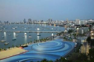 pattaya city bay