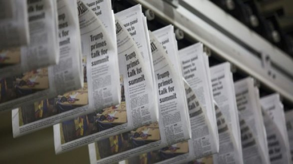Ailing US newspapers feel new pain from newsprint tariffs
