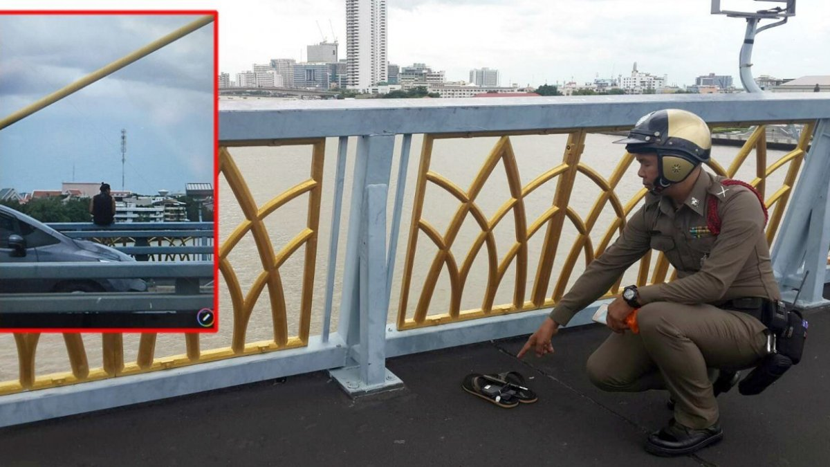Male model falls to death from Rama VIII Bridge into river
