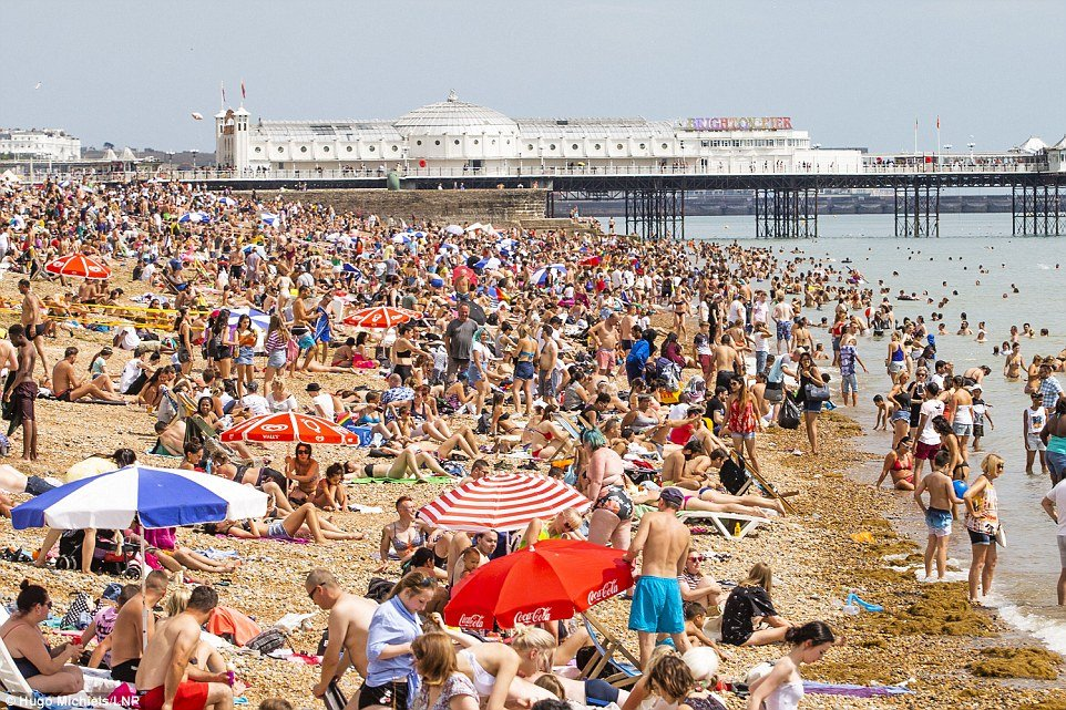 Met Office warns that the UK heatwave might keep going until OCTOBER!