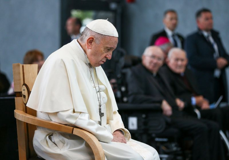 Pope silent on claim he ignored abuse