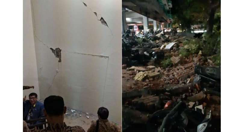 Singapore Minister caught in Lombok quake