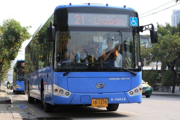 BMTA to increase fares on NGV buses next month. The Bangkok Mass Transit Authority will increase fare of its 100 natural gas-fuelled bus fleet