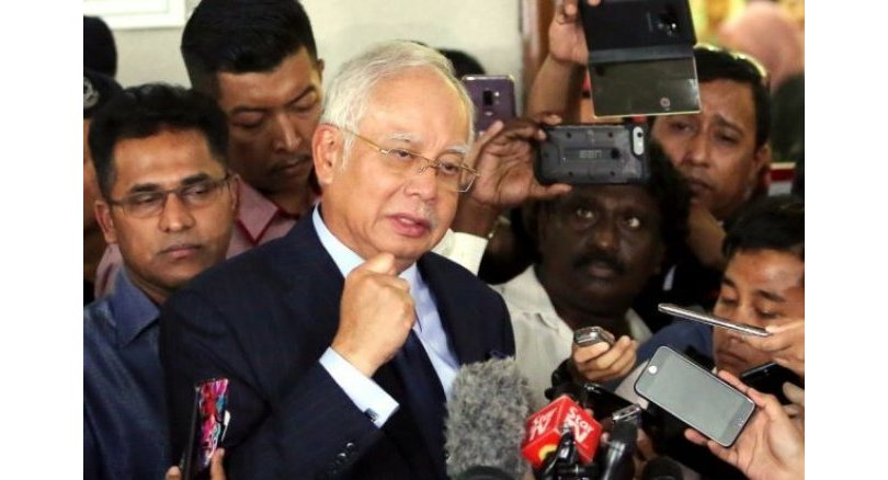 'I am not a thief', says Najib