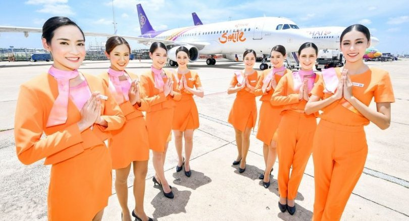 THAI Smile unveils newly designed aircrafts