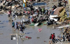 Over 1,200 dead in Indonesia quake and tsunami, toll still rising