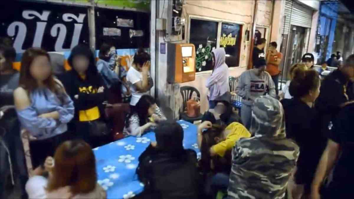 53 women caught in sex trade raid at karaoke bar