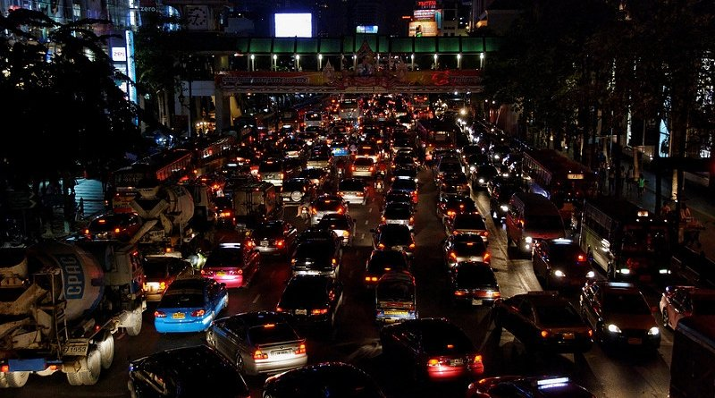 Leading cause of Bangkok traffic found.