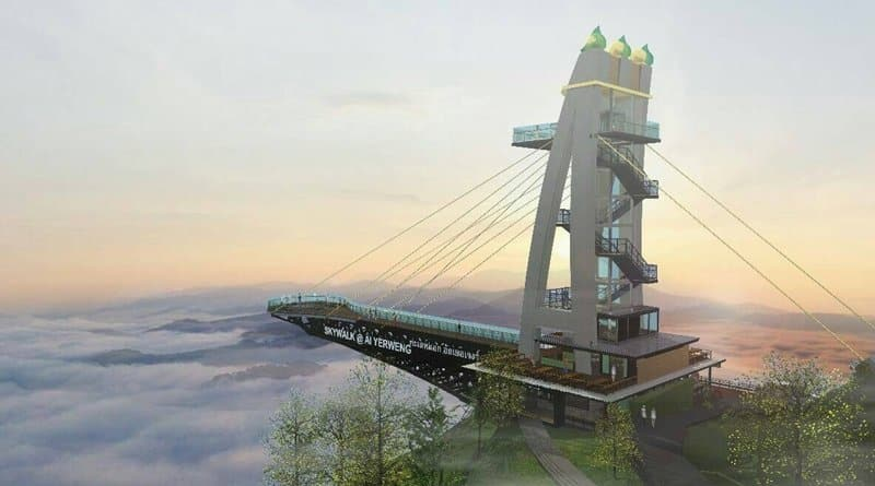Video: Longest Skywalk in Asia to be built in Southern Thailand
