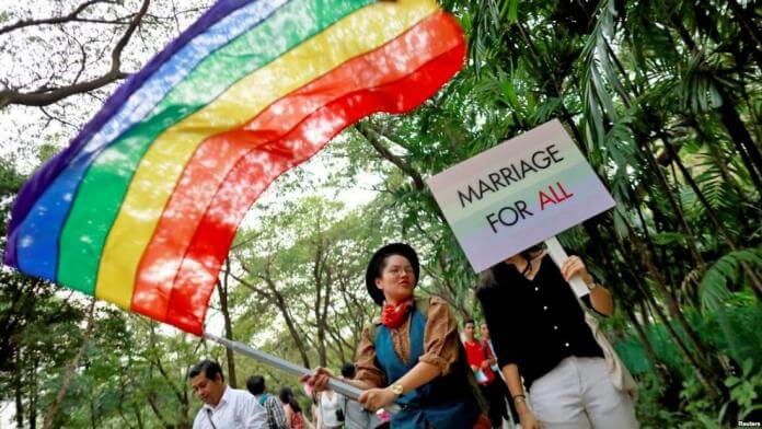 Same-Sex Marriage and adoption of children to same-sex couples legalized in Thailand