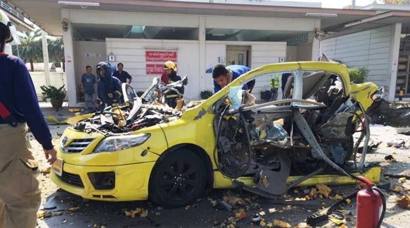 Cabbie hurt in NGV gas explosion