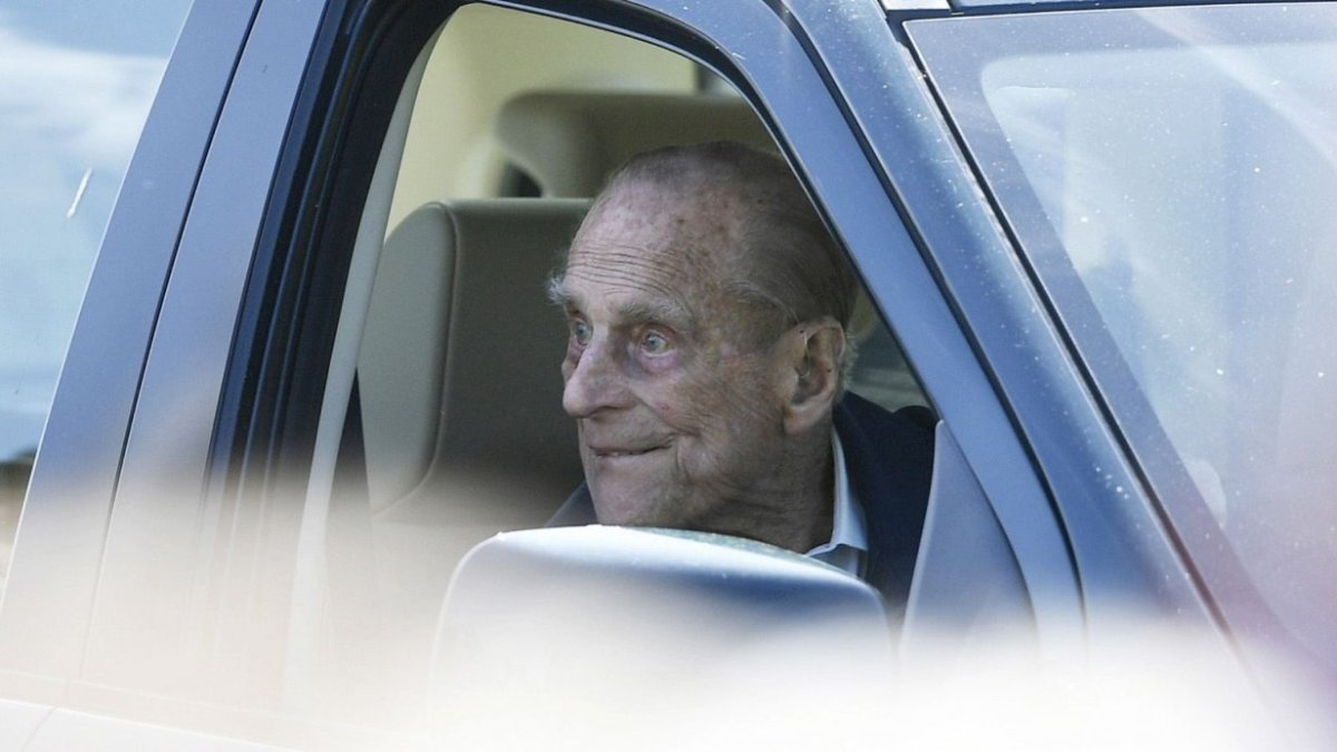 UK's Prince Philip, 97, back driving – without seatbelt