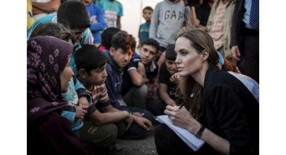 Angelina Jolie in Cox's Bazar to visit Rohingya camps. UNHCR special envoy and Hollywood actress Angelina Jolie arrived in Cox's Bazar