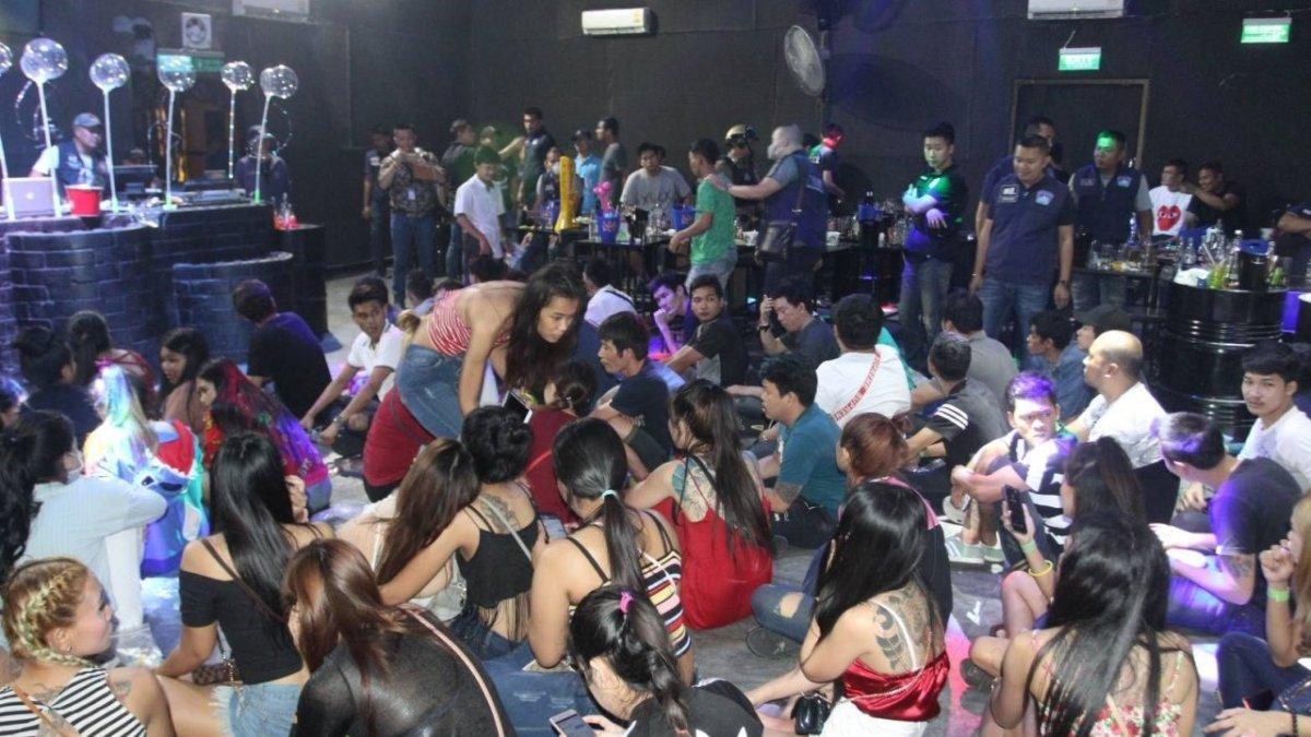 Drugs, underage drinkers found in Bangkok club raid