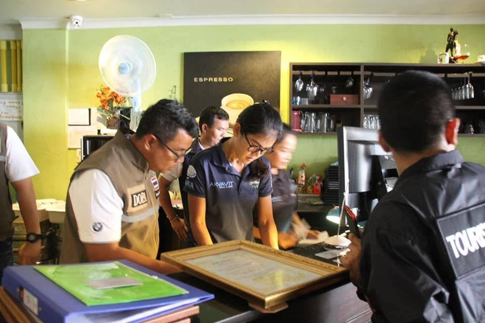 Three Hotels in Pattaya Nabbed For Operating Without A License