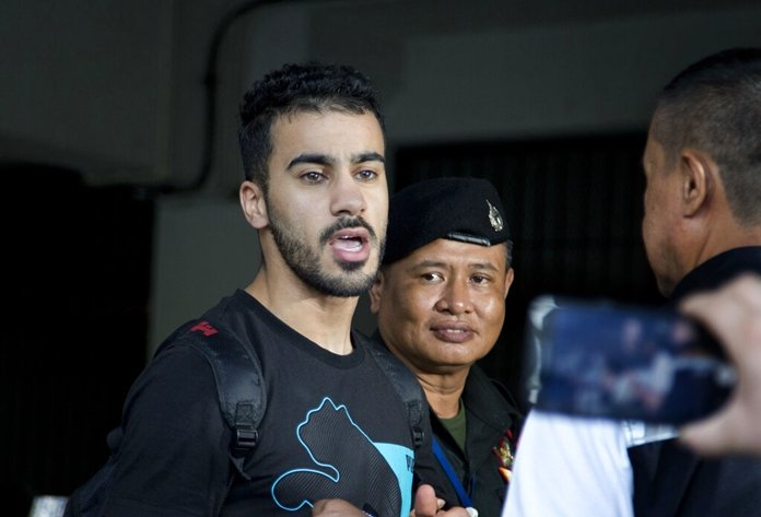 Request made in Thai court to send soccer player to Bahrain
