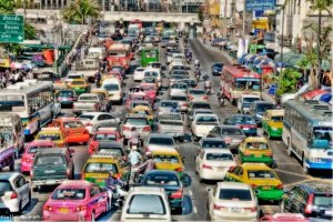 Bangkok considering congestion charge for vehicles. Bangkok is considering a congestion charge for vehicles and a study is being carried out on the