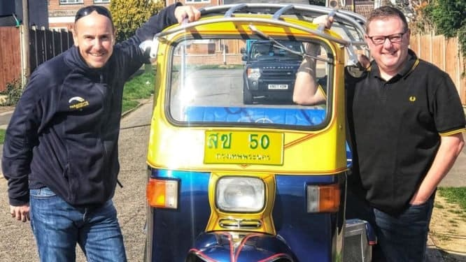 Brit wants to break speed record in a Tuk Tuk