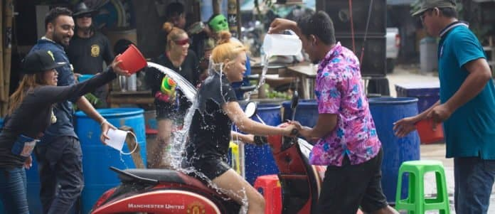 Thai police warn against social media posts with nudity, alcohol during Songkran