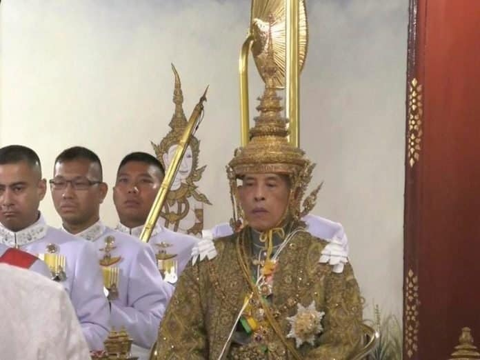 Thailand officially crowns it's new King Rama X