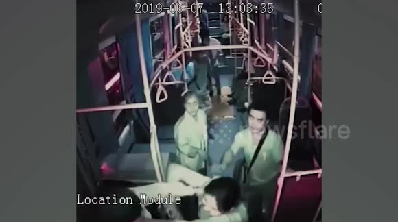 Video: Bus Driver Attacks Woman Who Told Him To Stop Using Phone